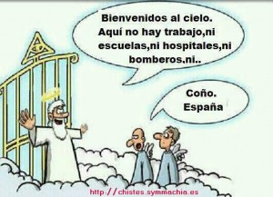 Bienvenidos al cielo