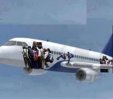 Un avión de las 'Bilbo Air Lines', única aerolínea con pilotos sólo de Bilbao …