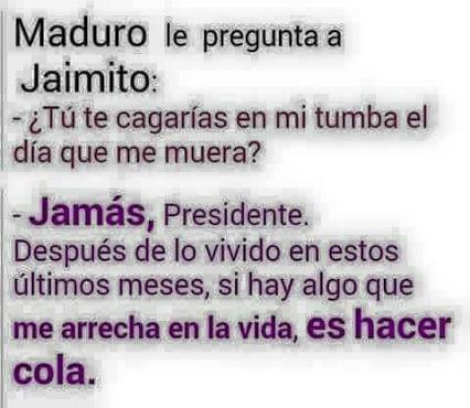 Maduro le pregunta a Jaimito