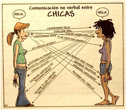 Mujeres, hombres y el lenguaje no verbal