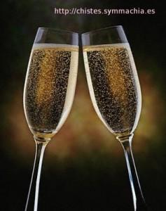 chistes-brindis-champagne
