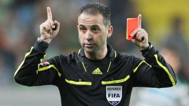 El arbitro de fútbol
