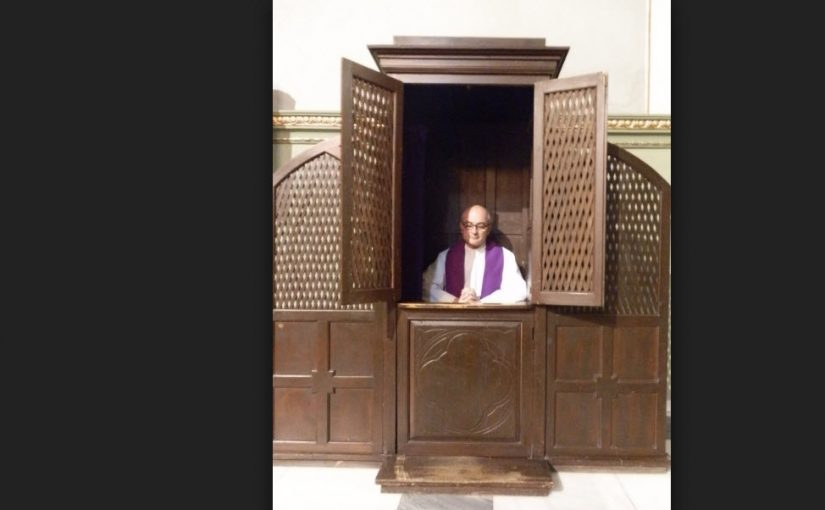 El chiste de las confesiones