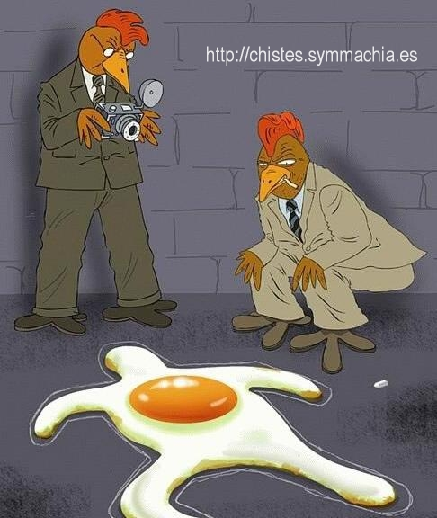 huevo estrellado chistes sin palabras