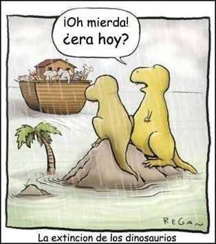 la extincion de los dinosaurios