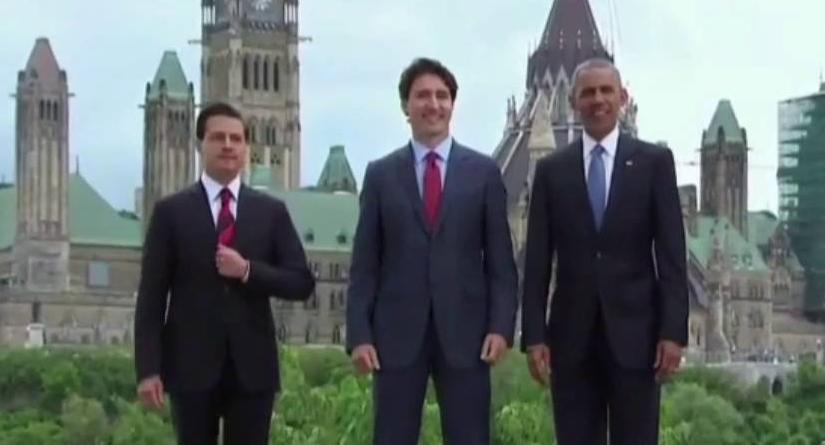 Se encuentran, Peña Nieto, Obama y la reina de Inglaterra en el infierno