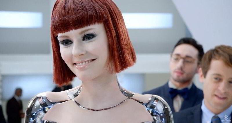 La secretaria robot